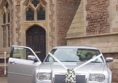 Luxury affordable wedding car in Bath UK