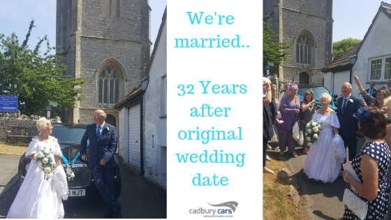 A Romantic Wedding Day After 32 Years