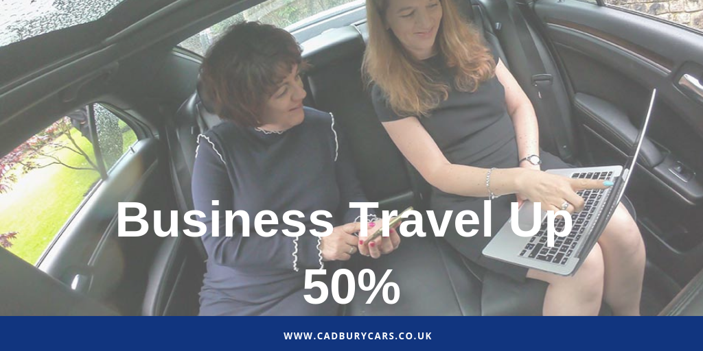 Business Travellers Take 50% More Trips