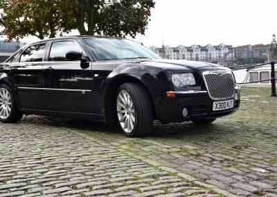 Cadbury cars Black Chrysler Bristol waterfront