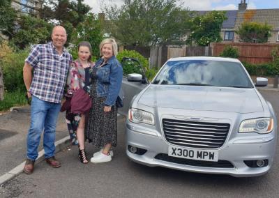 Family occasion to Ashton Gate