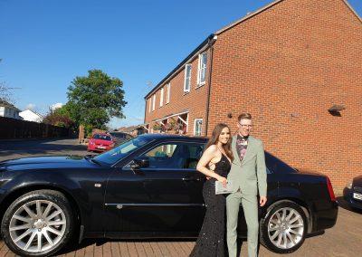 chauffeur car for school prom bristol